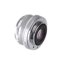 25mm F1.8 Prime Lens Manual Focus MF For Panasonic Micro 4/3 cameras G1/2/3 GF1