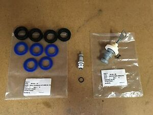 Fleck 5600 Complete Rebuild Kit - Upgraded Blue Silicone Seal Kit