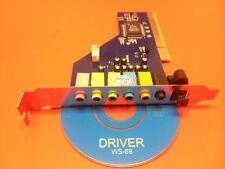 Cmedia CMI8768 Dolby Digital Surround Sound 7.1-Channel PCI Sound Card--NEW SEAL