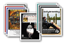 BADLY DRAWN BOY - 10 promotional posters  collectable postcard set # 1