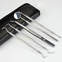 5PCS Portable Dental Oral Hygiene·Kit Set Deep Cleaning Dentist Teeth Care Tool.