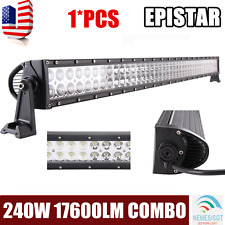 "42""Inch 240W Combo LED Work Light Bar Offroad Driving Lamp For Jeep Ford Screw"