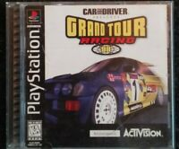 Grand Tour Racing 98 Ps1 Playstation 1 One Complete TESTED rare Activision