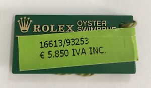 ROLEX Green Tag Oyster Swimpruf 16613 K325358 2001 Submariner Date Steel Gold