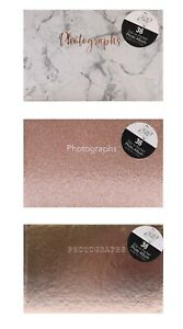 "Marble Design Mini 6""x4"" Slip in Photo Album 36 Pockets"