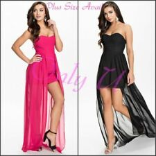 Formal Plus Size Strapless Dresses for Women