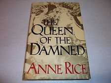 THE QUEEN OF THE DAMNED--SIGNED by ANNE RICE--HARDCOVER