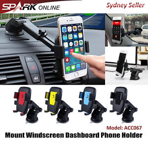 Car Holder Windshield Windscreen Dashboard Mount Suction Cup For Cell Phone AD67