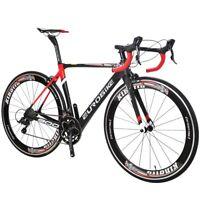 700C Carbon Frame Racing Road Bike Road bicycle Shimano R300018 Speed