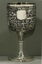 Chinese Export Silver Goblet    c1840                  HEI HING CH'EUNG