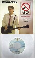 GLENN FREY  I Found Somebody 45 with PicSleeve  THE EAGLES