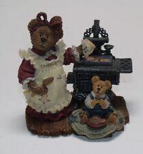 "Vg+ 2000 ""Aunt Becky w/Zack.Quality Control"" Boyds Bears 228326"