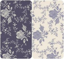 100% Cotton Poplin Printed Floral Antique Pattern Fabric Dress Quilting Material