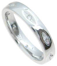Womens Real Solid 925 Sterling Silver 4mm Wedding Band Anniversary Ring Size 5-9