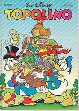TOPOLINO N° 1899 - 19 APRILE 1992