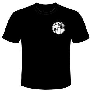 Bottom tee t shirt FICK ERF BADGE Rik Mayall Retro T-shirt TV Young Ones comedy