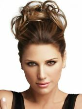 Daisy Fuentes Secret Extensions Tousled Twist Luxhair Hair MEDIUM BROWN/GOLD