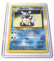WARTORTLE - Base Set - 42/102 - Uncommon - Pokemon Card - Unlimited Edition - NM