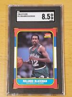 1986 Fleer Rolando Blackman #11 SGC 8.5 PSA SGC ?