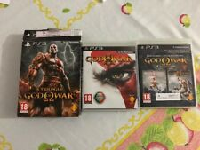 God of War Trilogy Collection 1 2 3 Collector´s Edition Playstation3 PS3