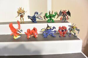 "Digimon Figure Deltamon 1.5"" 2001 97 BirdramonVenommyotismon Lot"
