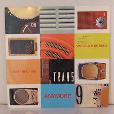 """Van Gils & De Goeij – I Don't Need You Anymore (Vinyl, 12"""", Maxi 33 Tours)"""