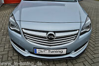 Sonderaktion Frontspoiler Schwert aus ABS Opel Insignia Facelift OPC-Line ABE