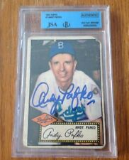 1952 Topps #1  Andy Pafko CARD RC  SIGNED AUTO AUTOGRAPH  JSA/BGS Certified
