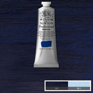 Winsor and Newton Professional Acrylic Phthalo Blue (Red Shade)