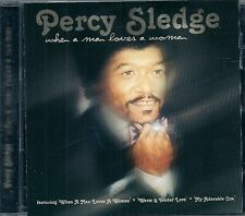 CD COMPIL 11 TITRES--PERCY SLEDGE--WHEN A MAN LOVES A WOMAN
