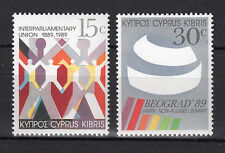 CYPRUS 1989 ANNIVERSARIES AND EVENTS I MNH