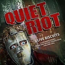 QUIET RIOT - 2 LIVE BISCUITS: 2 LIVE RADIO SHOWS  2 CD NEW+