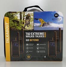 Motorola T82 Extreme Walkie-Talkies – Quad Pack