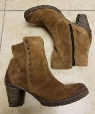 Remonte 8825501717 Ankle Brown Suede Boots Sz: 41/9.5-10