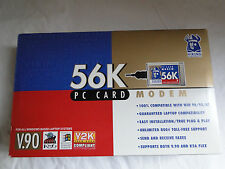 """2 Viking Components 56K Pc Card Modems Pcmcia Win95 3.5"""" Disks/Guides/Cables"""