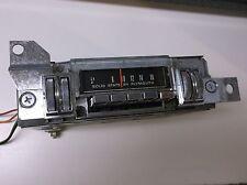 1968 1969 Plymouth Barracuda Cuda 340  AM Radio ....Very nice !