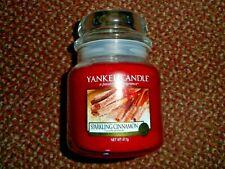 new yankee candle medium jar - sparkling cinnamon