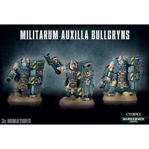 Militarum Auxilla Bullgryns / Ogryns / Nork Deddog: Astra Militarum