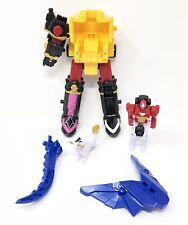 Power Rangers DX Ninja Steel Megazord Legs Sword Arm Zord Parts Incomplete