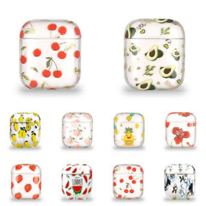 Clear Fruit Hard Case For Apple AirPods Pro AirPods 3 2 1 Protective Cover Skin