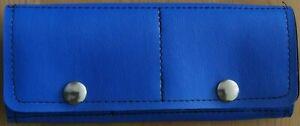Blue Trifold Dart Case/Wallet