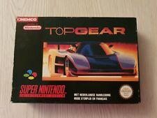 Top Gear (FAH) Super Nintendo SNES