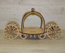 Cup Cake Stand PRINCESS CARRIAGE Mdf Craft Kit Weddings And Celebrations