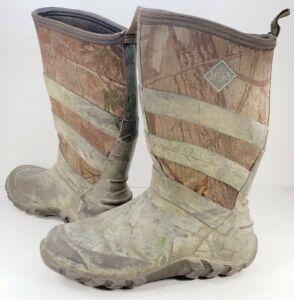 "Muck Boots Men's Size 9M Real Tree AP Camo 12"" Neoprene Shaft Very Heavy Duty"