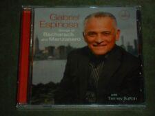 Songs of Bacharach & Manzanero by Gabriel Espinosa (CD, 2016, Music Video) seal