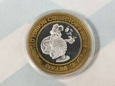 ST. CROIX CHIPPEWA WI INDIANS Silver Strike TURTLE FLIPPING COIN .999 Silver
