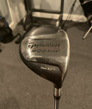 """RARE🔥TOUR ISSUE """"D"""" (Draw) Stamp Taylormade 200 Steel Tour 17* DG X-100"""