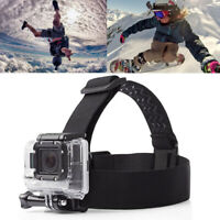 For GoPro HERO7 6 5 4 3+ 3 Elastic Adjustable Head Strap Mount Belt Headband New