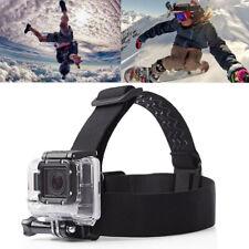 Elastic Head Strap Mount Belt Adjustable Headband Fit for GoPro HERO7 6 5 4 3+ 3