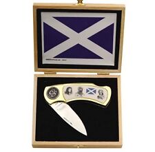 "Collector Series Scottish Heroes Boxed 4"" Knife Fast Shipping CS6022"